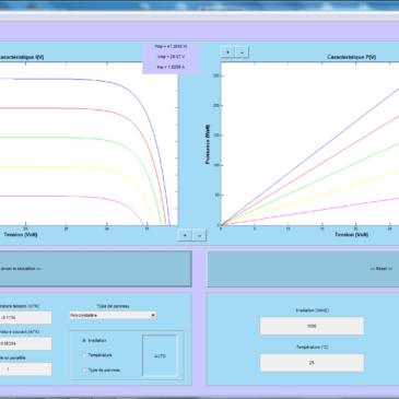 PVSenSim – outil de simulation photovoltaïque